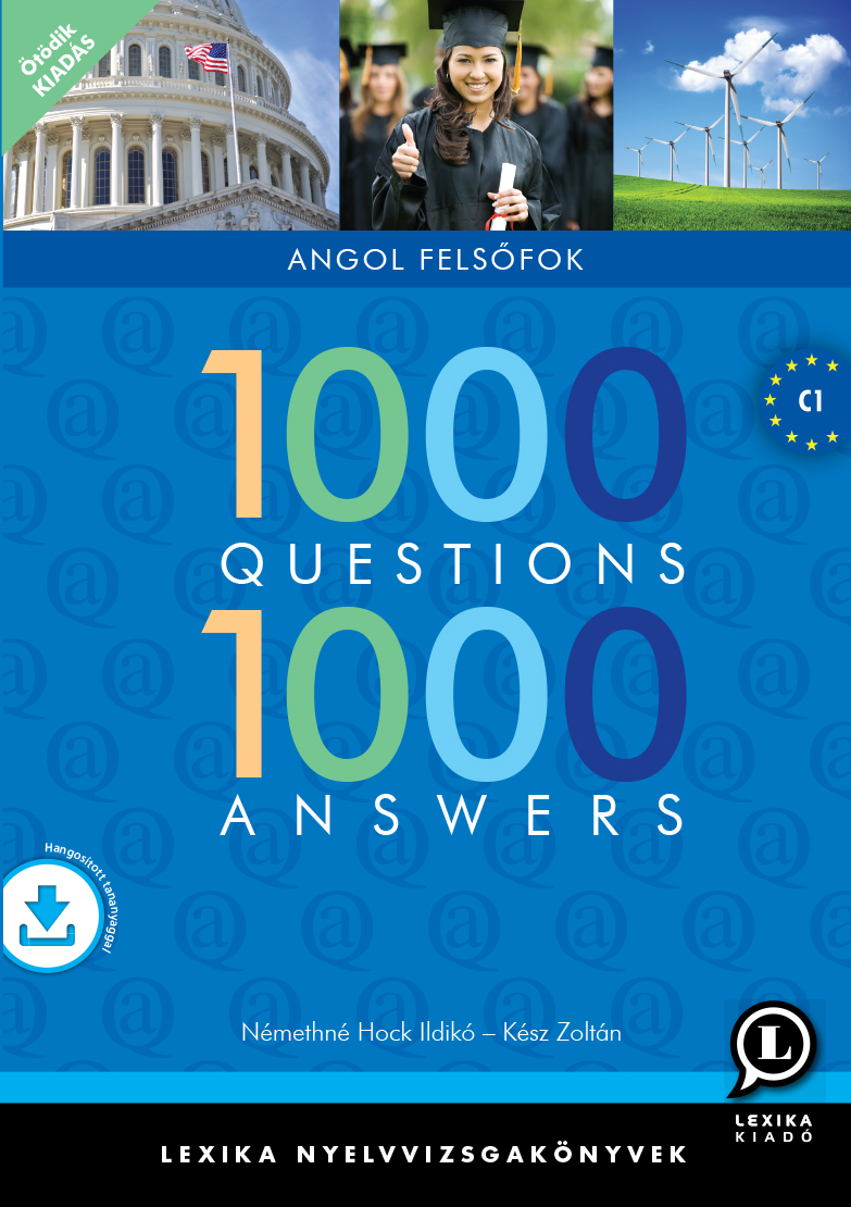 1000 Questions 1000 Answers Angol Felsofok